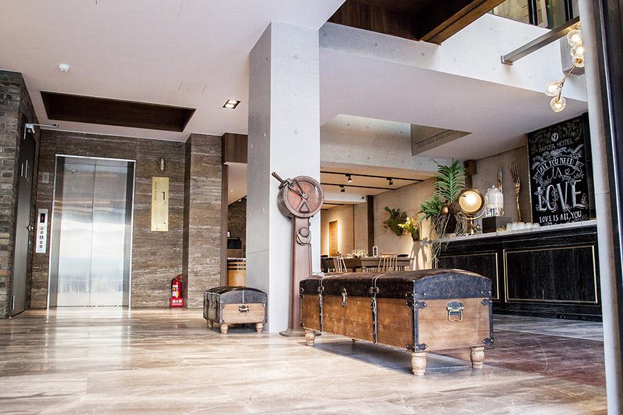 高雄空間設計旅店PAPO'A帕鉑