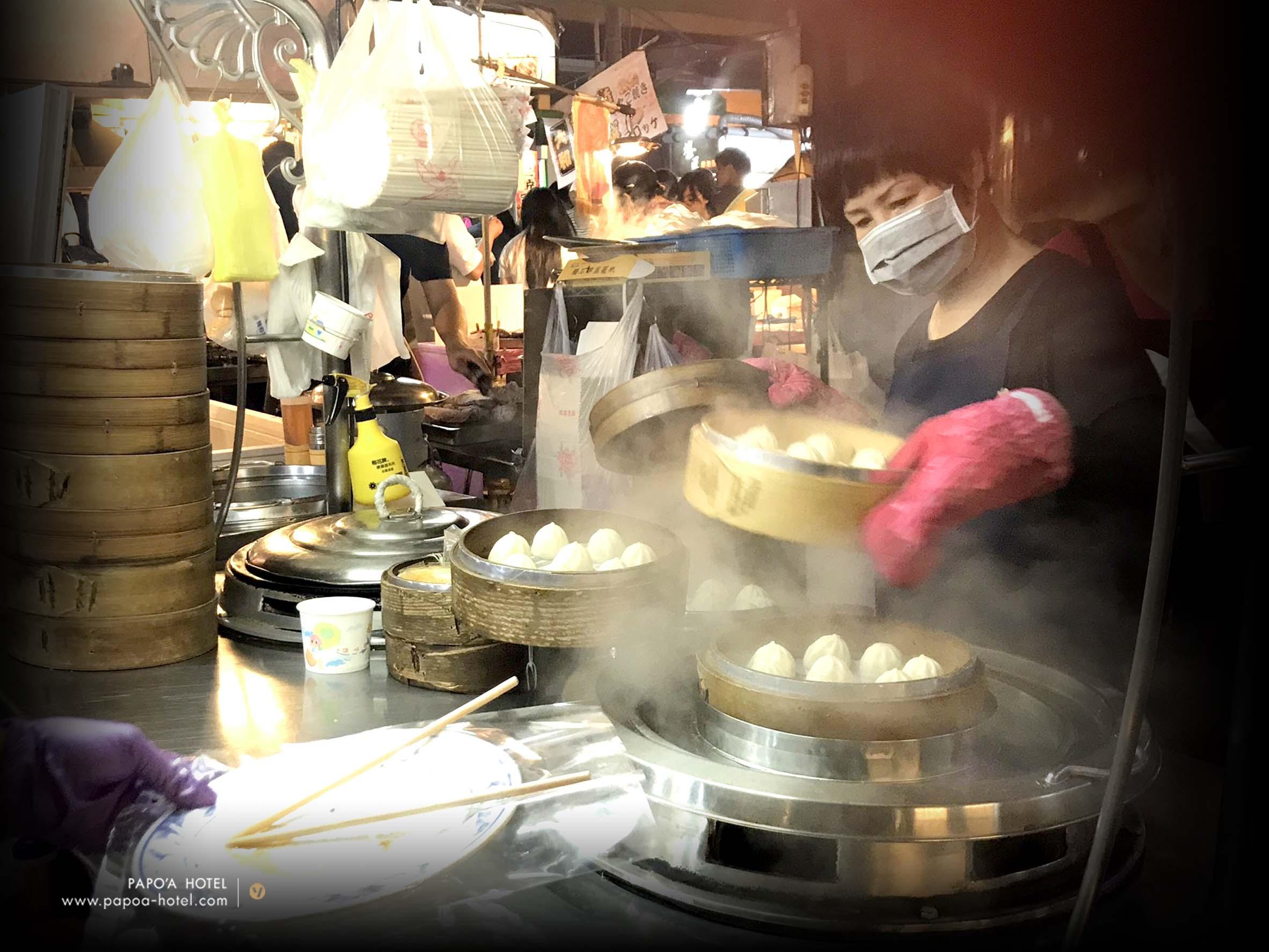 高雄夜市上海湯包店家照