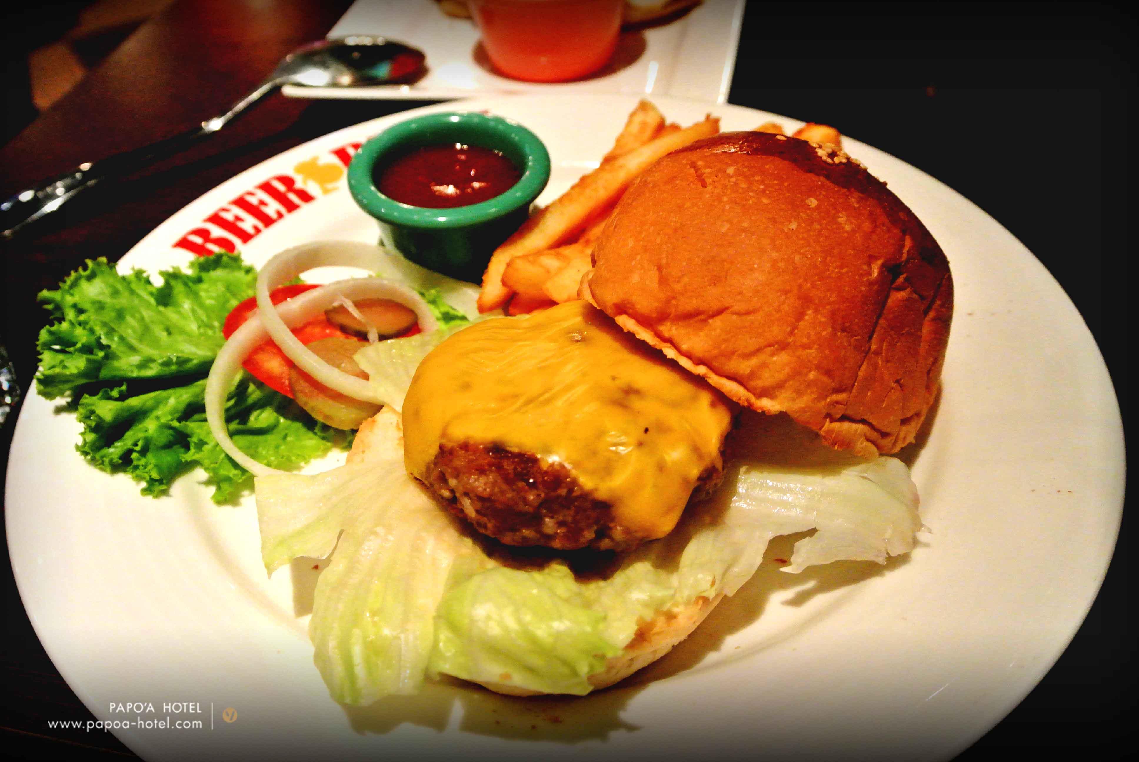 啤酒肚餐廳美式漢堡