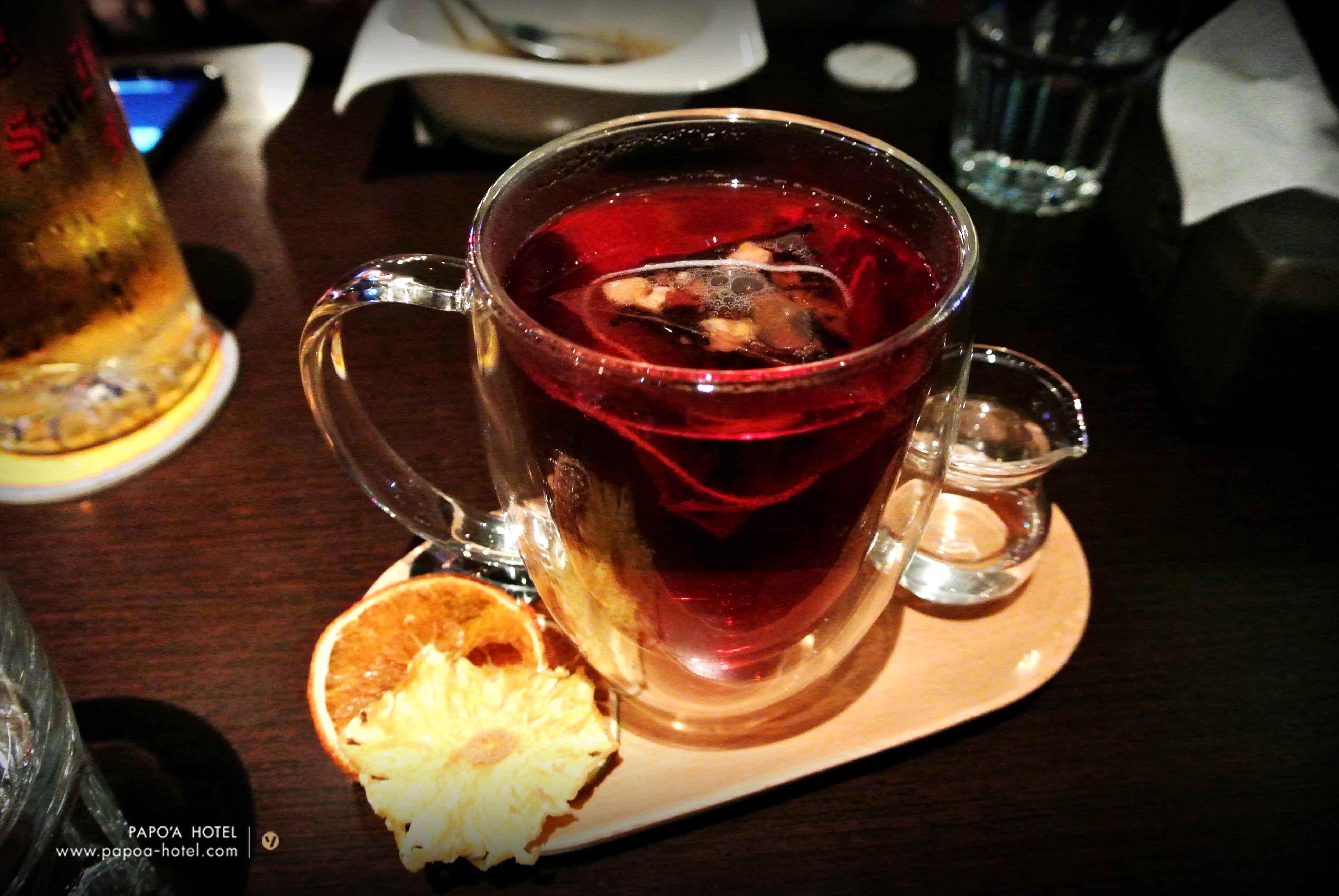 啤酒肚餐廳花果茶