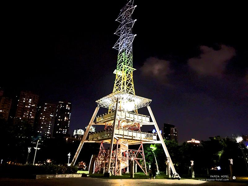 光之塔照片