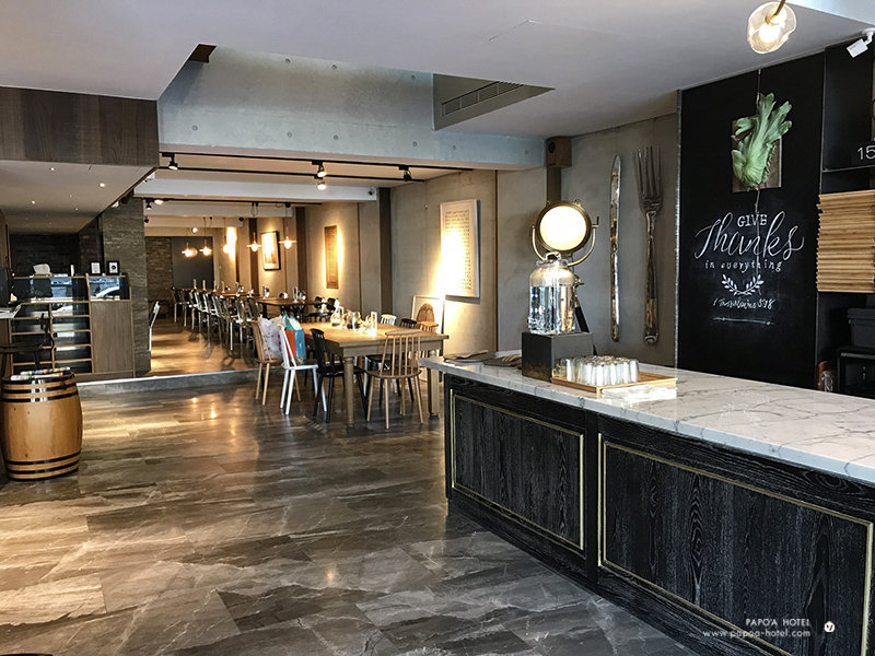 帕鉑舍旅一樓餐廳照片