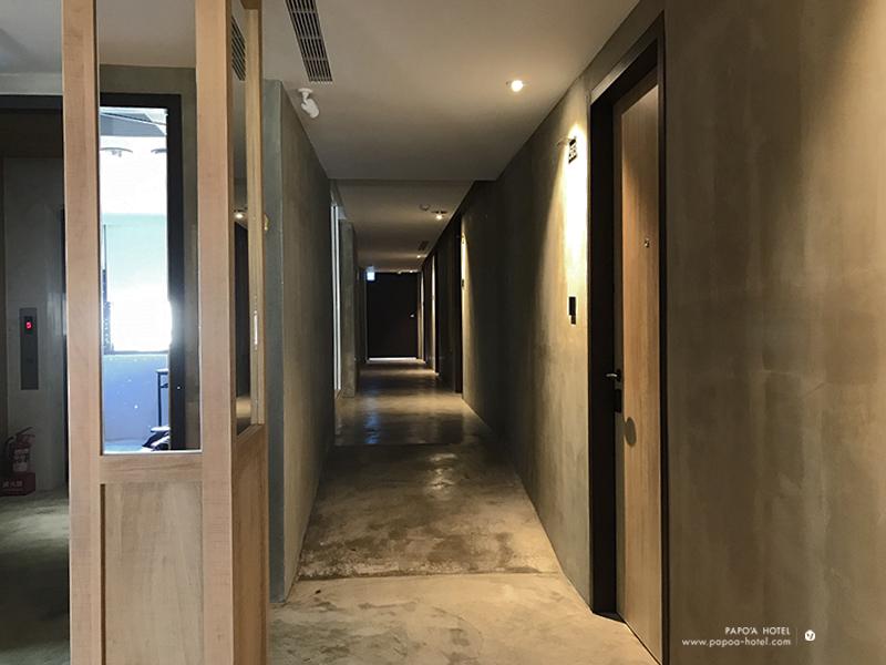 帕鉑舍旅客房層走廊照片