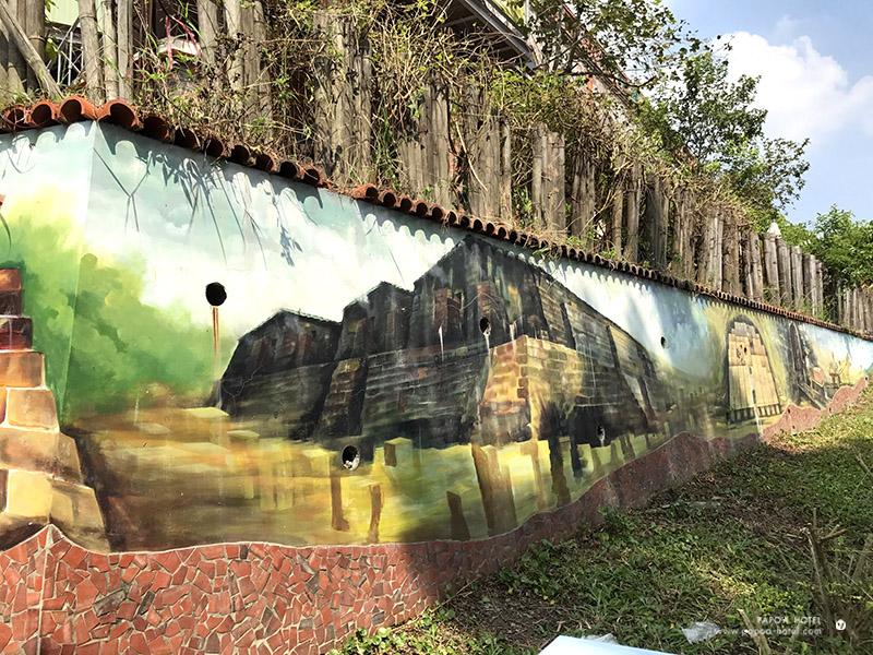 三和瓦窯壁畫照片