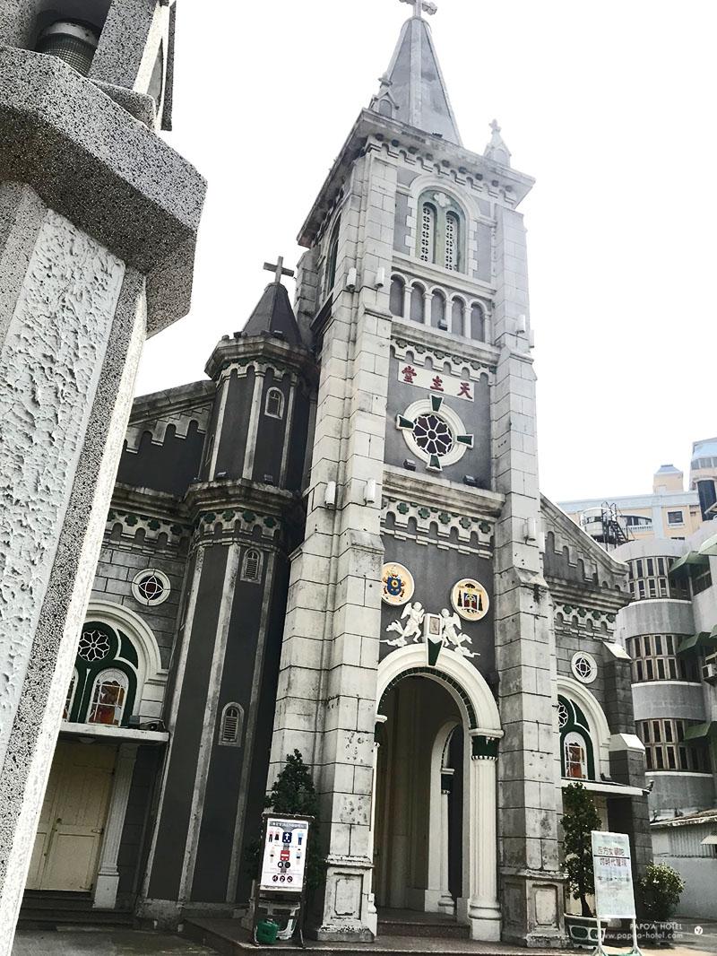 玫瑰聖母教堂外部建築照片