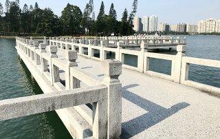 澄清湖九曲橋照片