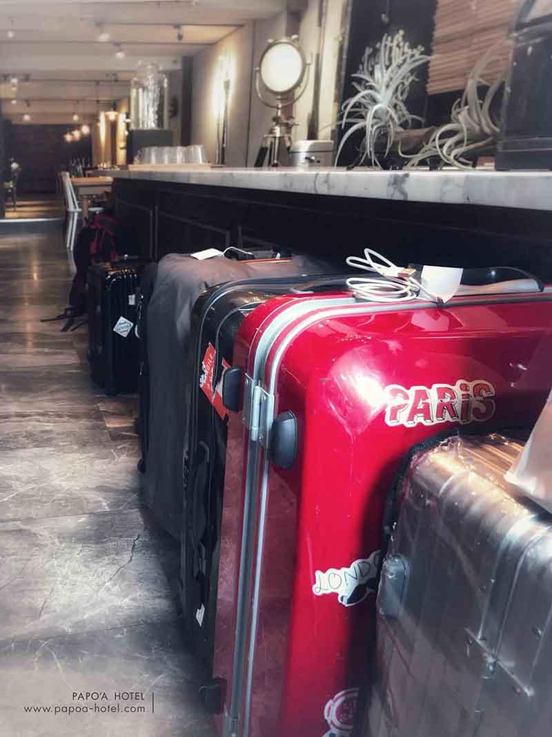 帕鉑舍旅寄放行李